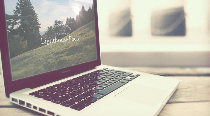 西宮・神戸・大阪・芦屋・宝塚で出張撮影・お外スタジオ・ホームページ制作・グラフィックデザイン制作をしているLighthouse Photoのホームページ制作シングルページプラン用イメージ写真