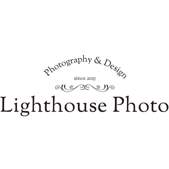 兵庫県西宮・神戸・芦屋・宝塚で出張撮影・ホームページ制作・グラフィックデザイン制作をしているLighthouse Photoのフォントベースのロゴデザイン