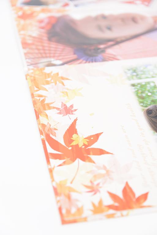 出張撮影・お外スタジオ・結婚式撮影・ホームページ制作・グラフィックデザイン制作・アルバムデザイン制作を西宮・神戸・大阪・芦屋・宝塚中心に行っているLighthouse PhotoのDVD&ALBUMの07