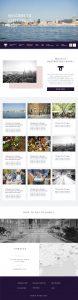 ライトハウスフォトのホームページ制作実績・GASTROPOLIS KOBE-食都神戸-のWEBサイトデザイン