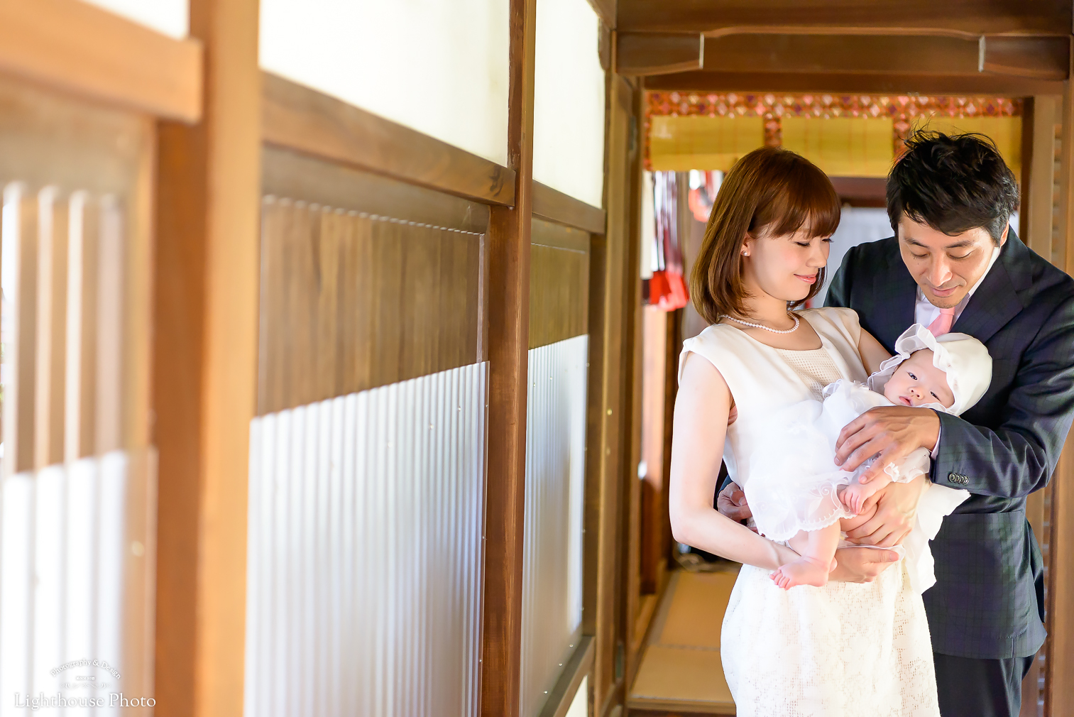 お宮参り撮影!!緑豊かな神社でのロケーションフォトin芦屋神社
