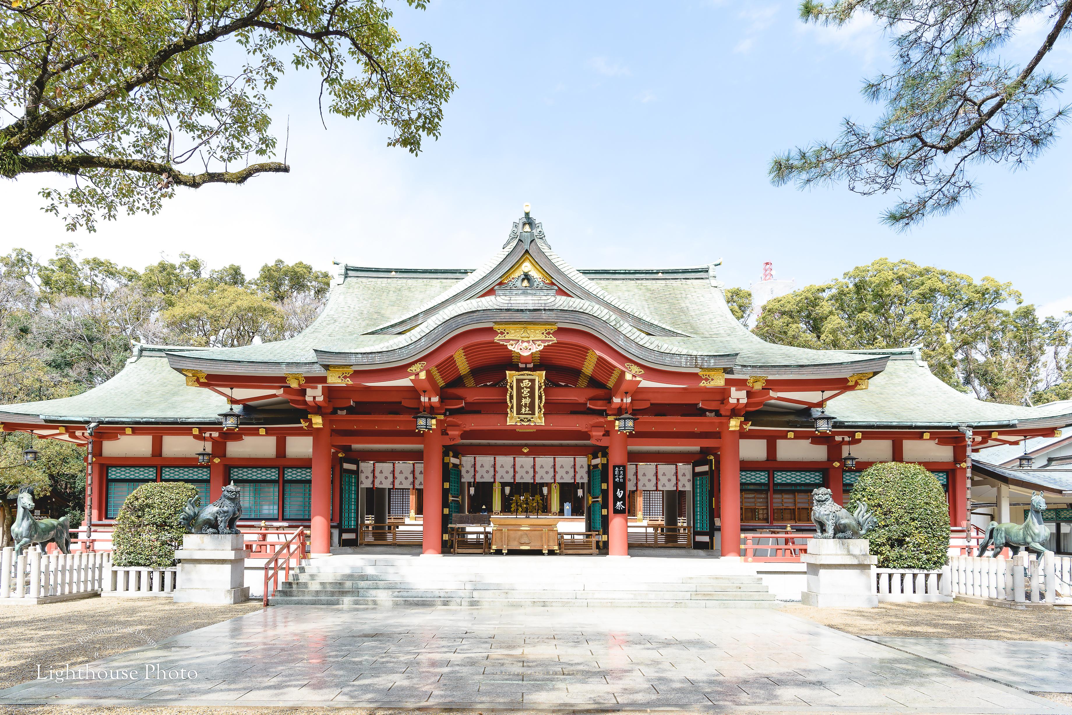 ふんわり明るいお宮参りのロケーション撮影@西宮神社-1